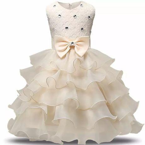 Новое нарядное платье на девочку, плаття на свято для дівчинки, 98-154
