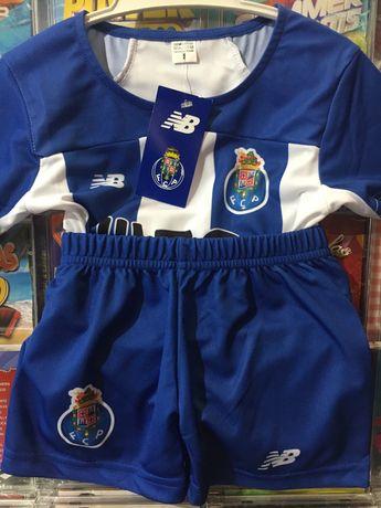 Equipamento Porto FCP. Criança.