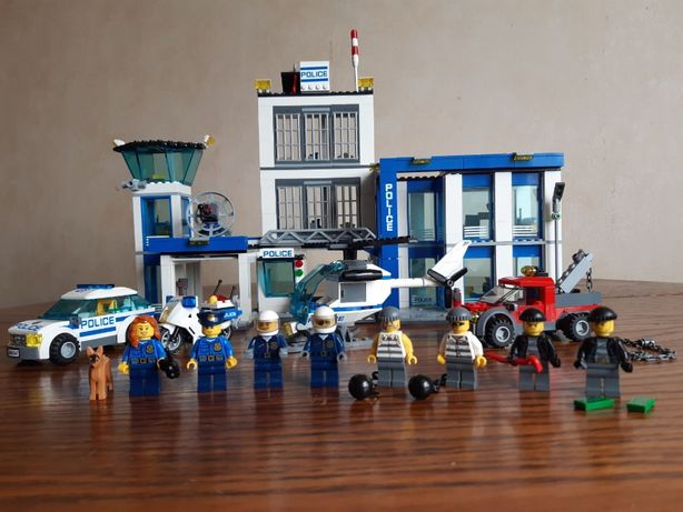 Lego City. 60047. Лего сити. Полицейский участок.