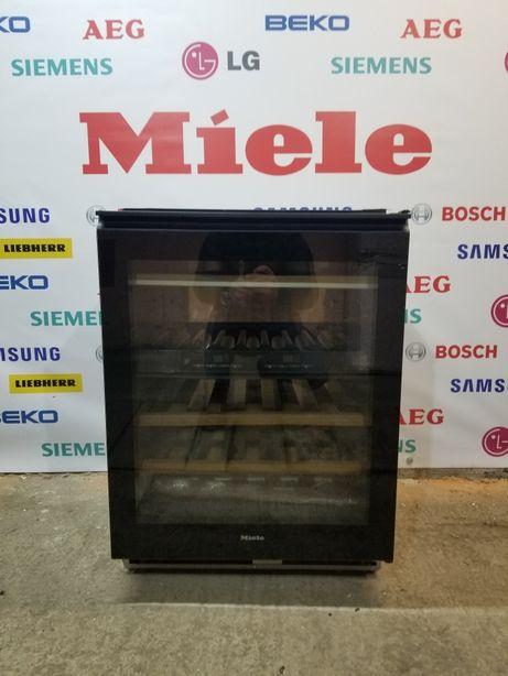 Винный холодильник Miele KWT 4154. Чёрное стекло. Под столешницу!
