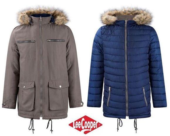Мужская куртка Lee Cooper Revers парка осеняя зимняя М-Л