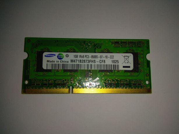 Оперативная память ОЗУ DDR3 1 Gb (Samsung М471B2873FHS-CF8) для ноутбу