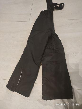Spodnie narciarskie zimowe 122-128 dla chlopca