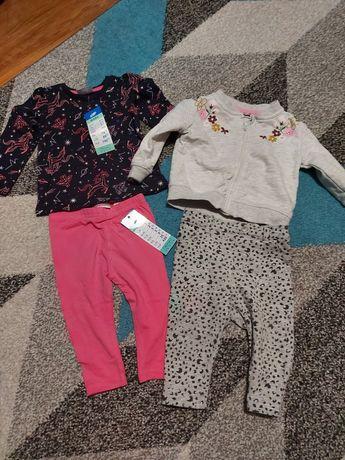 Paczka ubrań dla dziewczynki 68- 74-80