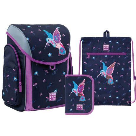Школьный набор рюкзак + пенал + сумка Wonder Kite Colibri WK21-583S-3