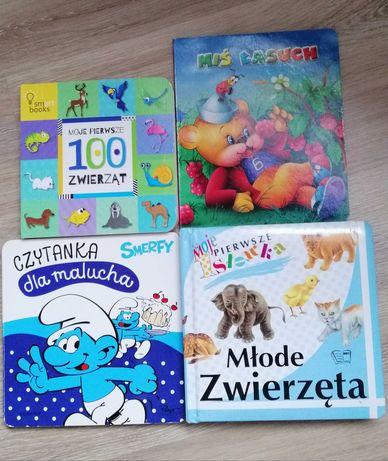 Zestaw zabawek i książeczki dla dziecka