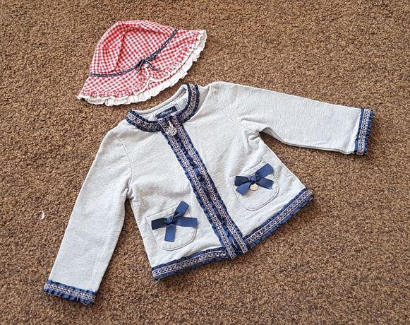 Piękna marynarka bluza elegancka kapelusz MAYORAL 80