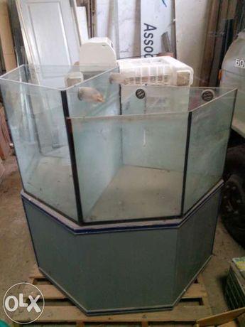 Aquario 600 litros cascata com bomba de agua