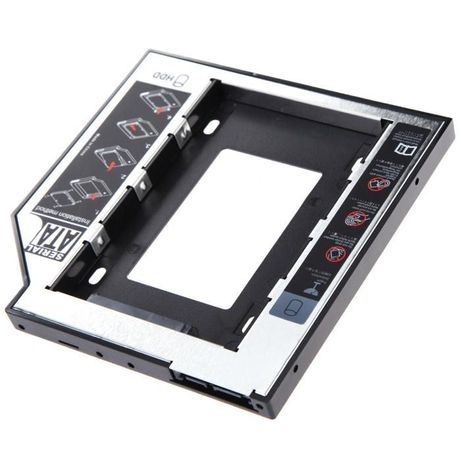INF011 - Adaptador caddy DVD disco SATA portátil 12.7mm