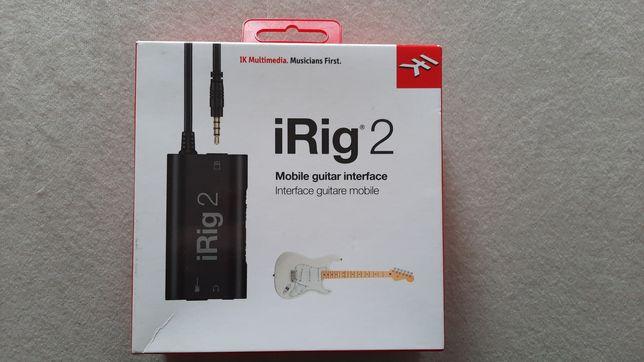 iRig2 dla muzyka.