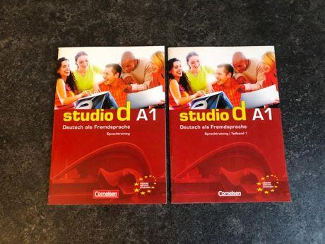 Studio d A1 Język Niemiecki Podręcznik z Ćwiczeniami