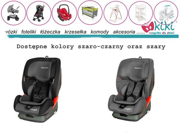 Fotelik BabySafe Corgi 9-36 kg od 9 msc do 12 lat grupa 1,2,3