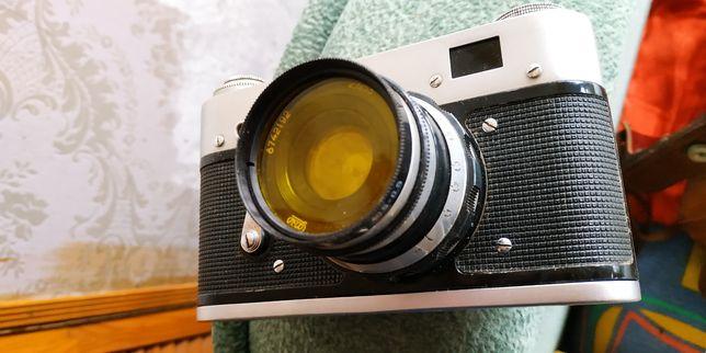 Фотоаппарат ФЭД 3 СССР +Проектор с фотоплёнками.