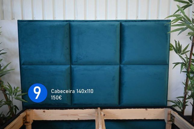 Cabeceiras 140x110 e Bases de Cama 190x140