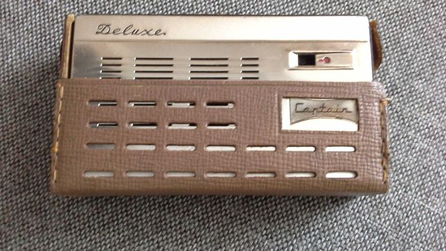 Stare Japonskie Deluxe Captain 8 tranzistor. 1964 r.