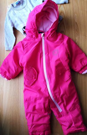 Kombinezon zimowy lupilu na ok 6 9 miesięcy sweter lupilu na ok 2 4 m