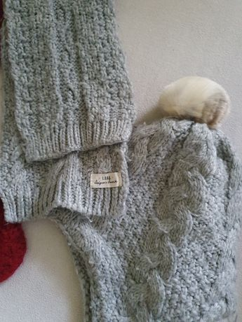 Zestaw H&M czapka zimowa i szalik 110