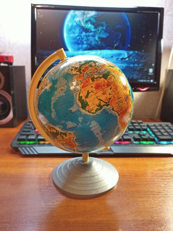 Глобус физико-географический