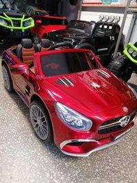 Samochód Mercedes AMG SL65 Lakierowany Czerwony Odbiór Wysyłka Sklep