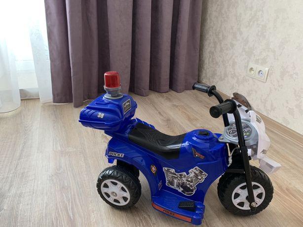 Мотоцикл детский, Машина