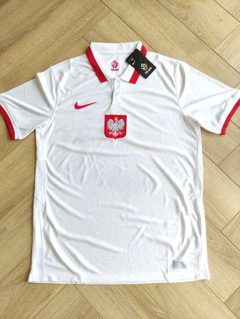 Nowa Koszulka Reprezentacji Polski Euro 2021 Rozmiar S