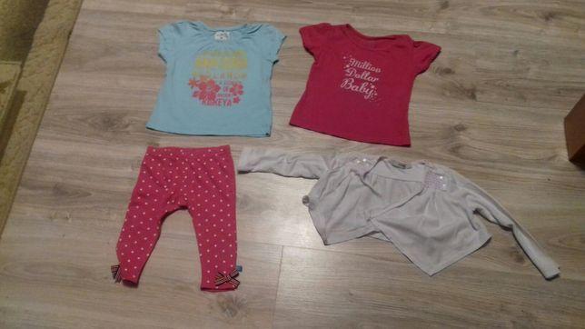 Koszulki z krótkim rękawem,geterki,bolerko dla dziewczynki 68,74,80-86