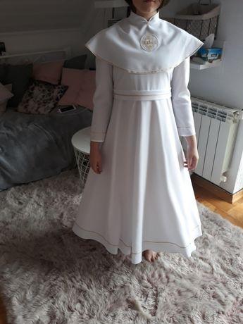 alba komunijna sukienka z kołem