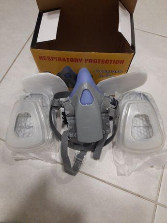 респиратор аналог 3М Сталкер Химик с химическими фильтрами