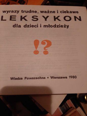 Książka Leksykon dka dzieci i młodzieży