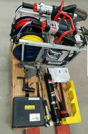 Zestaw ratowniczy Lukas, narzędzia hydrauliczne, nie- holmatro,weber,