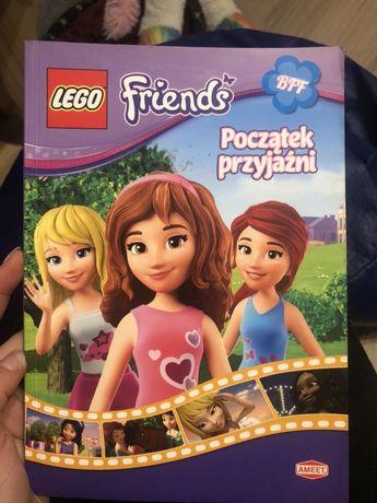 """Książka lego friends ,, Początek przyjaźni """""""