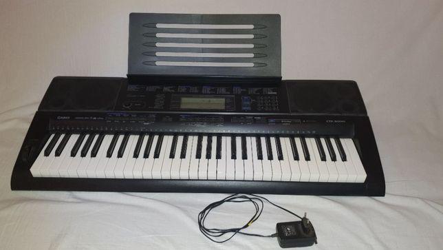 Keyboard / instrument klawiszowy Casio CTK-5000 stan BARDZO DOBRY
