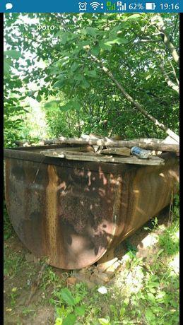 Емкость для воды - вагонетка шахтная