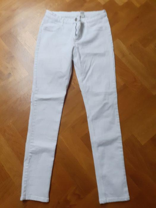 Białe spodnie Reserved Prochowice - image 1
