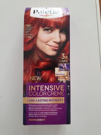 Farba do włosów Palette RV6, 7-887, szkarłatna czerwień