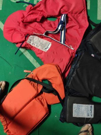 Coletes salva vidas ( barco, canoa, kayak)