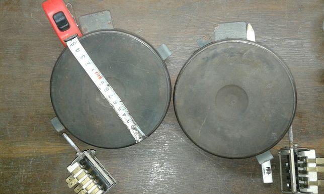 Продам два электро блина для электро плиты