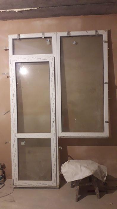 Дверь с окном из новостроя Южное - изображение 1
