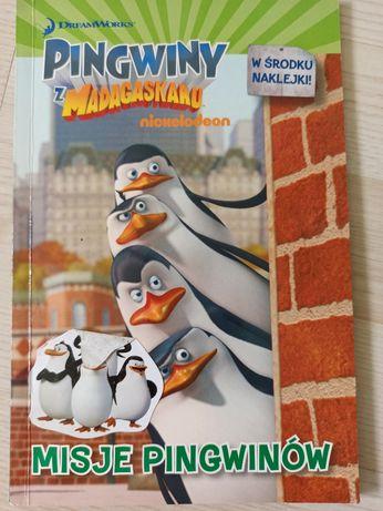 """Komiks """"Pingwiny z Madagaskaru"""""""