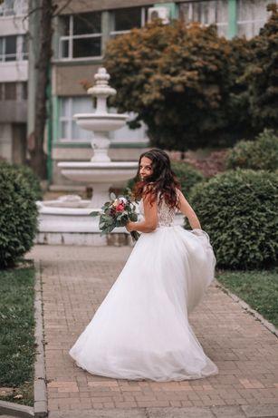 Свадебное платье crystal / щаслива весільна сукня crystal (не вінчана)