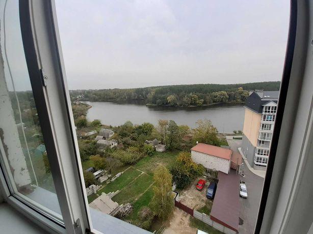 2 комнатная квартира на Еськова, 4 с видом на Яловщину и Стрижень