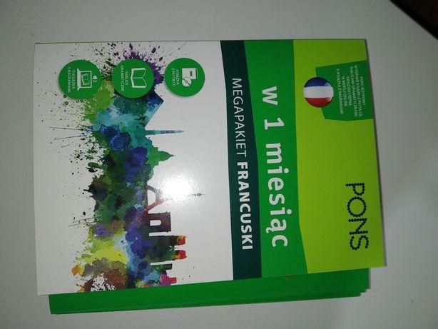 Francuski w miesiąc Mega Pakiet Pons