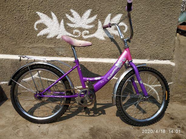 """Велосипед Mustang 20"""" новые колёса ."""