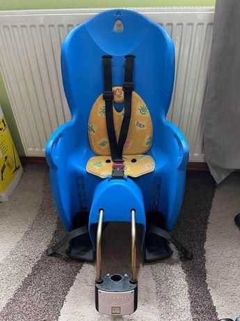 Fotelik rowerowy dla dziecka HAMAX 22kg