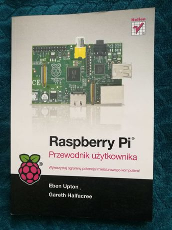 Książka Przewodnik użytkownika Raspberry Pi