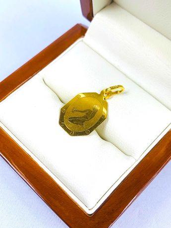 Złota zawieszka pr.585 14k PANNA - PLUS Lombard