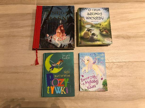 4 książki piękne dla dzieci TANIO!