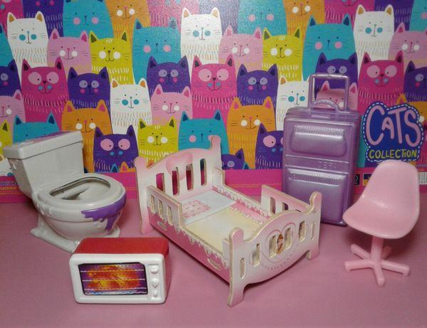Набор мебели для кукол и фигурок