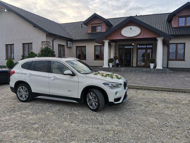Auto do ślubu BMW X1