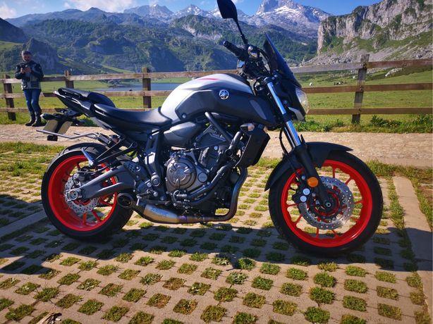 Yamaha MT07 Nov 2020 55kw